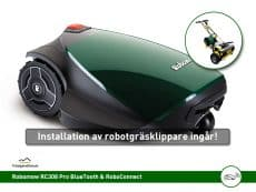 Robomow RC308 Pro med installationsservice