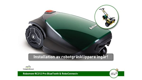 Robomow RC312 Pro med installationsservice