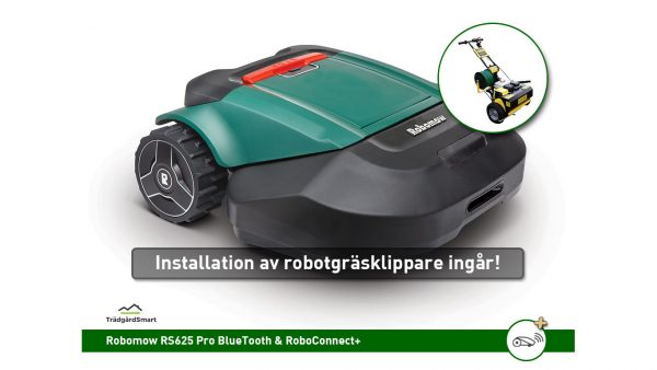 Robomow RS625 Pro med installationsservice